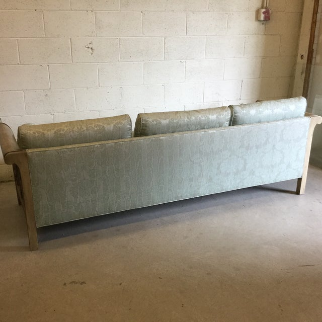 Palm Beach Regency Dorothy Draper Style Fretwork Sofa - Image 4 of 12