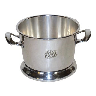 Silver Plated Ice Bucket Victorian Plate