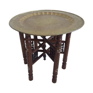 Vintage Indo Asian Occasional Table For Sale
