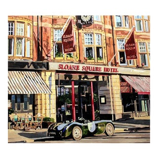 Sloane Square Hotel Print For Sale