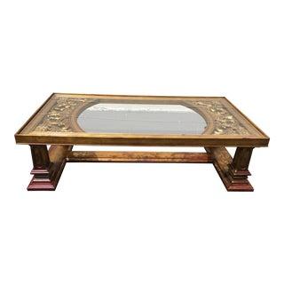Weiman Gilded Wood Coffee Table