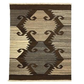 Rug & Relic Organic Modern Kilim | Elebelinde | 3'2 X 4 For Sale