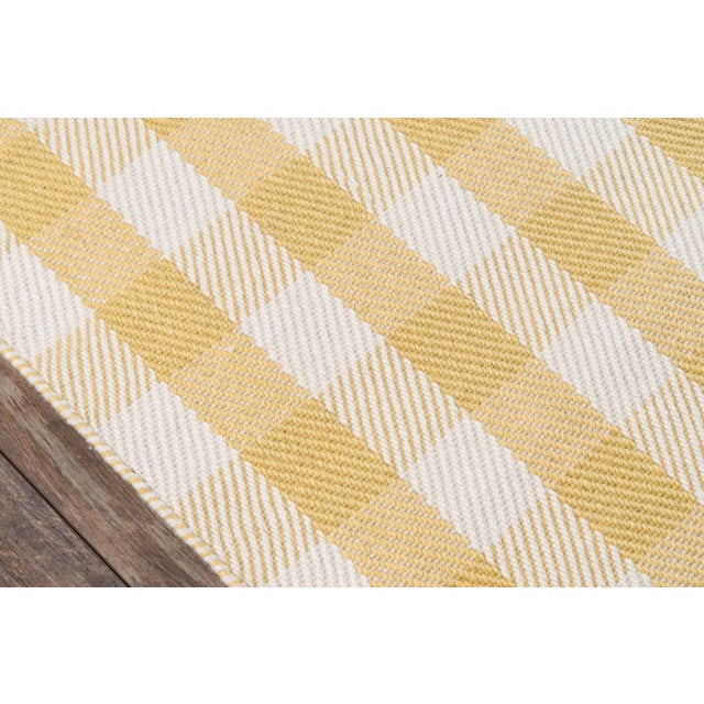 """Modern Madcap Cottage Highland Fling a Scotch Please Gold Area Rug 7'9"""" X 9'9"""" For Sale - Image 3 of 8"""