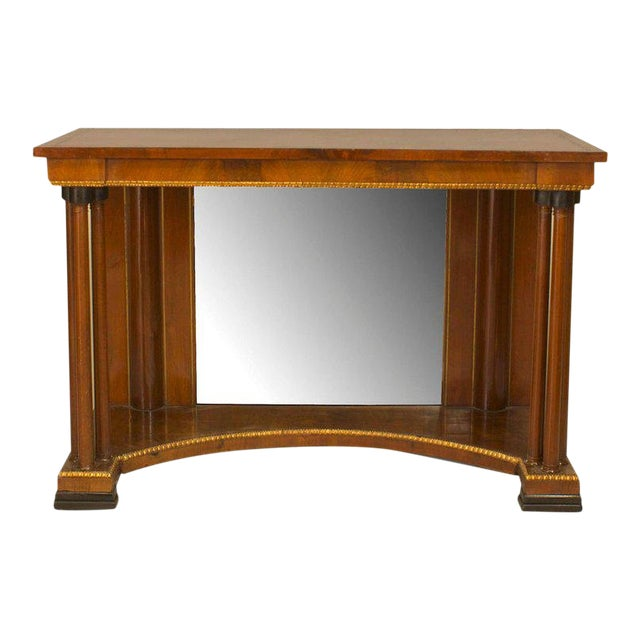 Russian Neoclassic Style Console Table For Sale