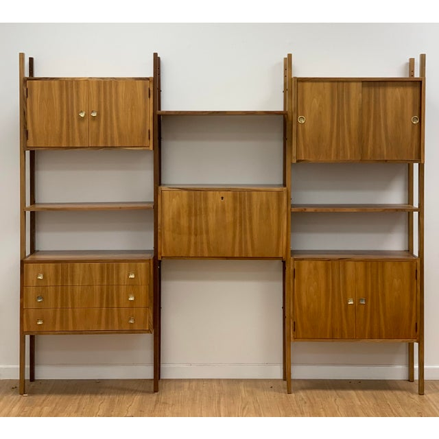 Mid Century Vintage Wall Unit For Sale - Image 12 of 13