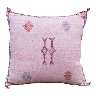 Sabra Silk Pillow For Sale