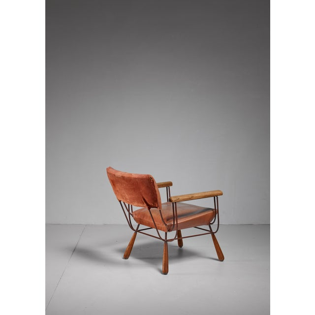 Mid-Century Modern Allen Ditson unique lounge chair, USA, 1960s For Sale - Image 3 of 6