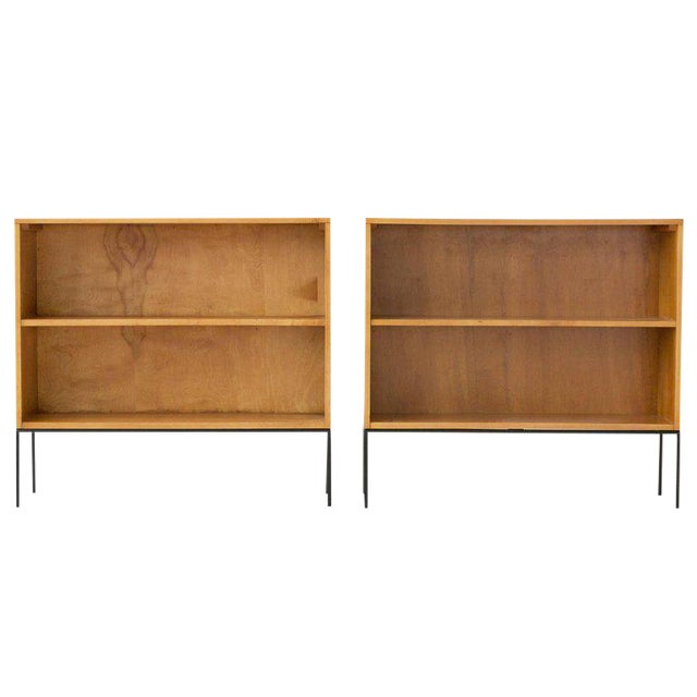 Paul McCobb Planner Group Bookcases - a Pair For Sale