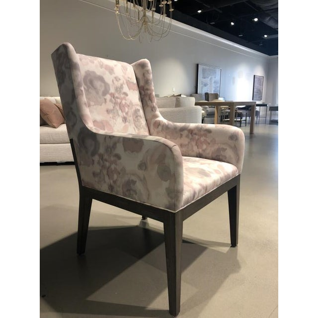 Transitional Century Furniture Tempe Arm Chair For Sale - Image 3 of 5