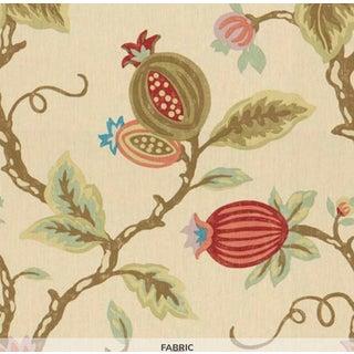 Lee Jofa Mandovi Fabric in Pumpkin - 1 Yard For Sale