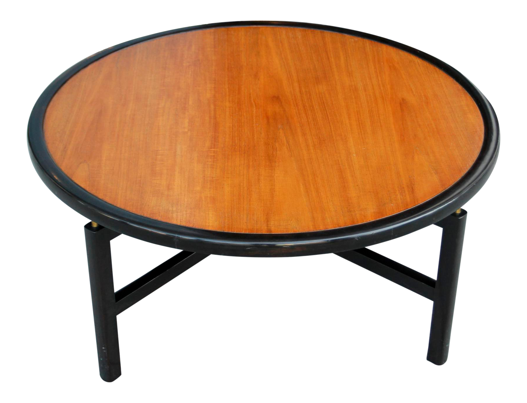 1960s Mid Century Modern Baker Furnitue Round Coffee Table