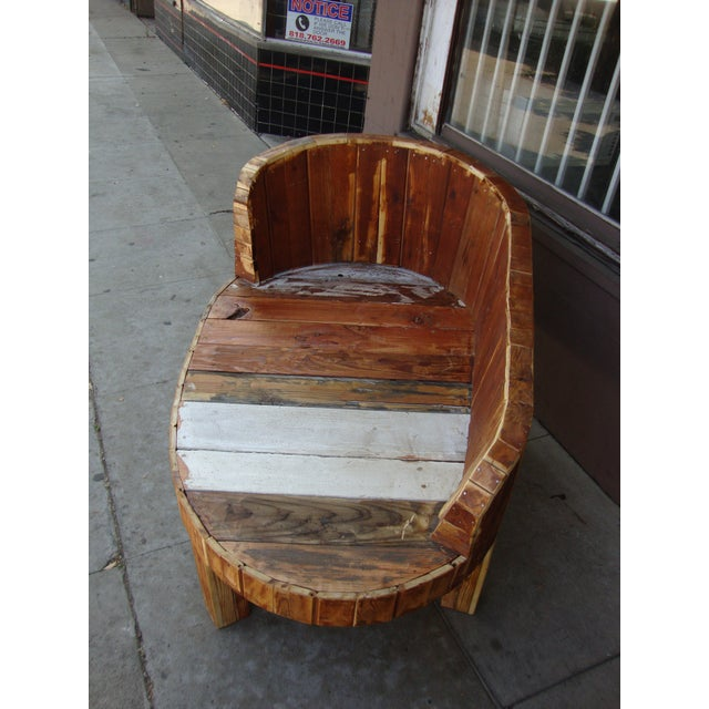Hand-Made Lounge Chair For Sale - Image 12 of 13