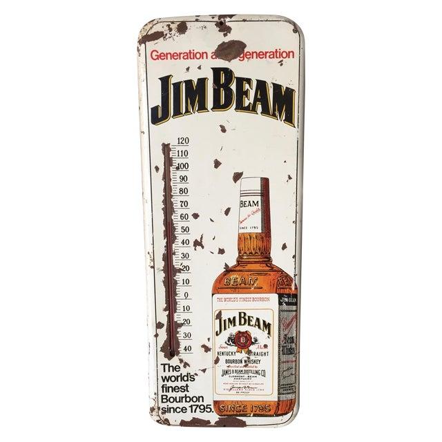 Vintage Original Jim Beam Advertising Thermometer - Image 1 of 9