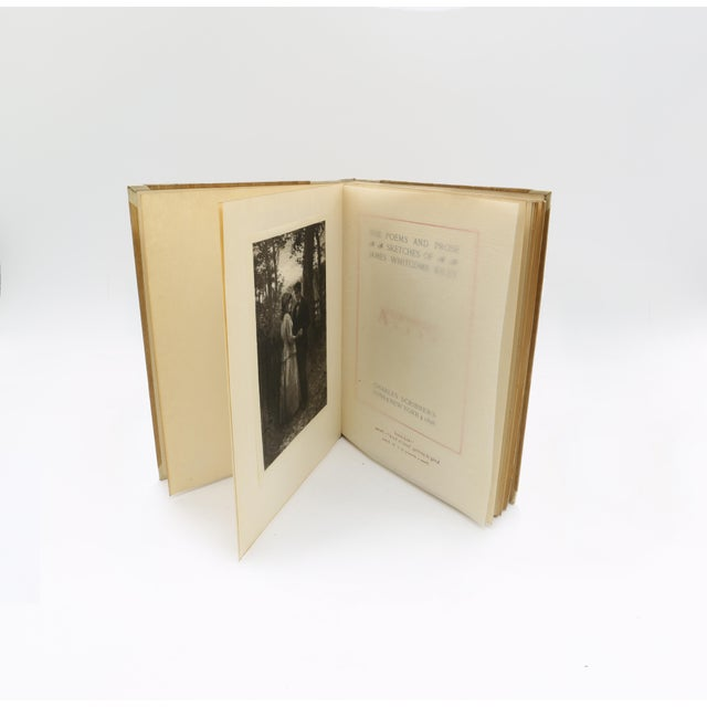 """""""The Poems and Prose Sketches of James Whitcomb Riley"""" Book Collection - Set of 16 For Sale - Image 9 of 11"""