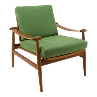 """1950s Vintage Finn Juhl Teak """"Spade"""" Chair For Sale"""