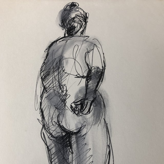 Original painting on paper Unsigned Study 11 x 14 Unframed