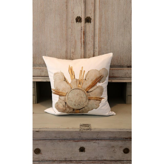 French Cathedral Altar Fragment Photo Pillow For Sale - Image 12 of 13