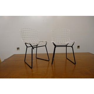Mid-Century Modern Baby Size Bertoia Side Chairs- a Pair Preview