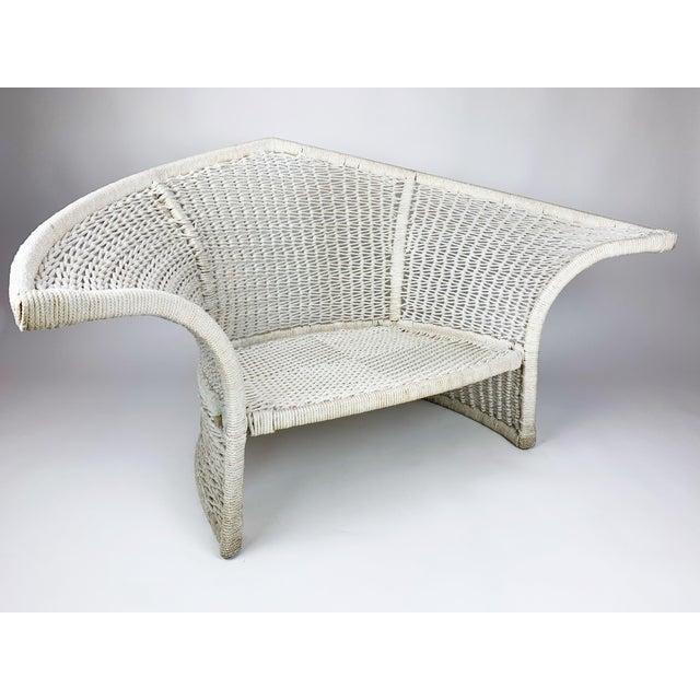 Vintage Rope Bird Lounge Coastal Chair Aft Bertoia For Sale - Image 13 of 13