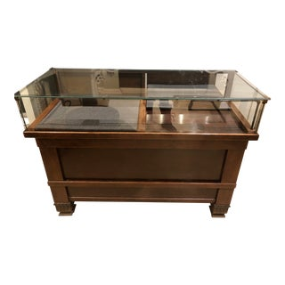 1930s Shop Display Cabinet For Sale