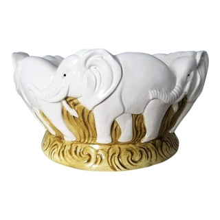 Elephant Ceramic Bowl