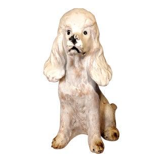 1950s Vintage Mid Century Poodle Dog Figurine For Sale
