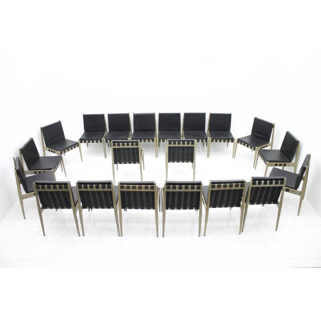 Wilde + Spieth 60x Egon Eiermann Dining Room Chairs Se 121 by Wilde & Spieth, Germany 1964 For Sale - Image 4 of 9