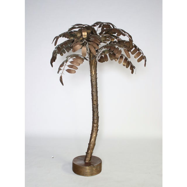 Monumental Metal Palm Tree Sculpture For Sale - Image 9 of 9