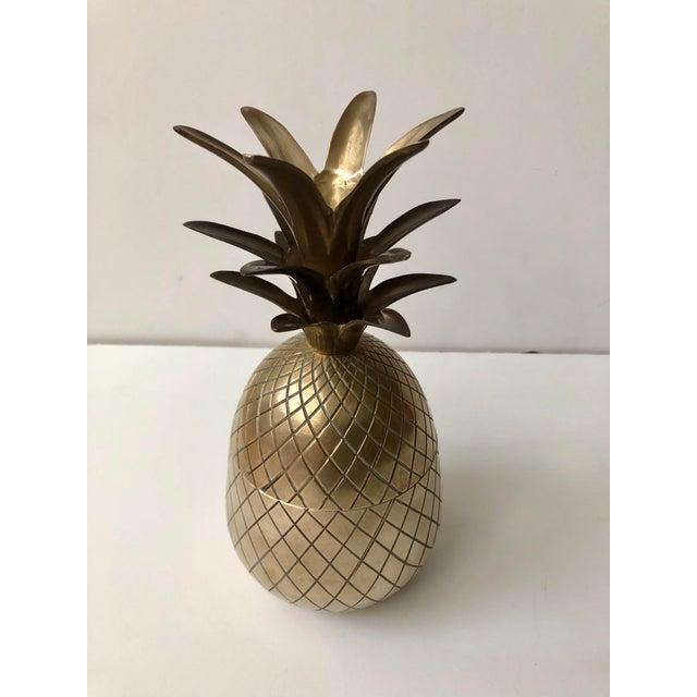 Vintage Brass Pineapple For Sale In Tampa - Image 6 of 9