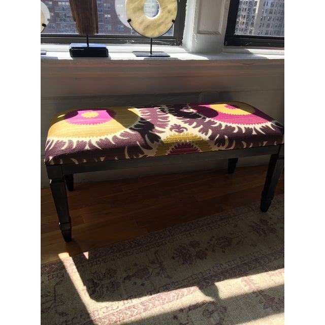 Safavieh Donghia Asian Upholstered Bench Chairish