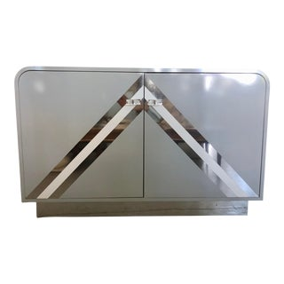 Pierre Cardin Style Waterfall Credenza For Sale