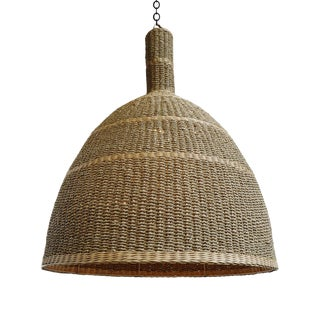 Kuba Seagrass Lantern Large For Sale