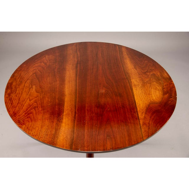 George Nakashima Splayed Leg Round Side Table For Sale - Image 9 of 10