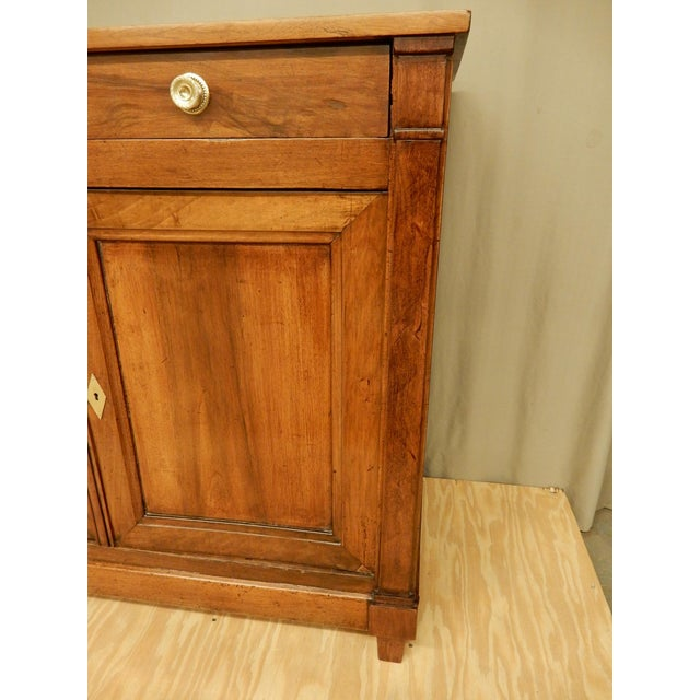 19th Century Early 19th C. Directoire' Walnut Enfilade For Sale - Image 5 of 10