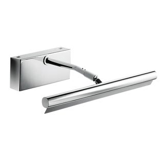 """Polished Chrome Slim Picture Wall Light (11.8"""") For Sale"""