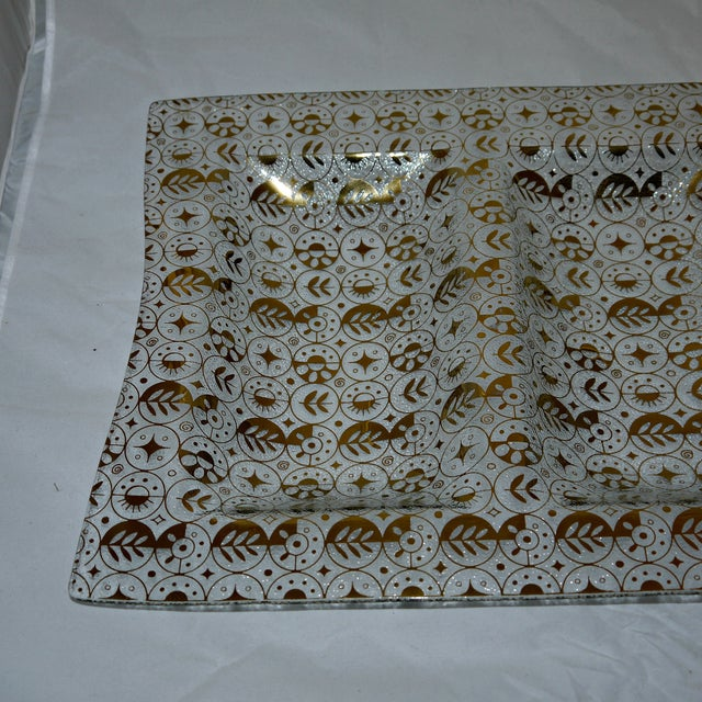 Georges Briard Mid-Century Divided Server Tray - Image 4 of 7
