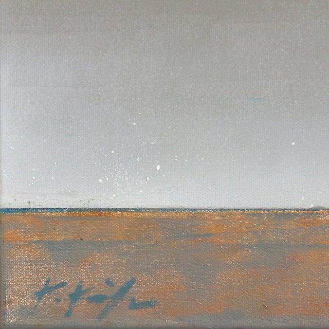 "2010s Original Beach Inspired Artwork by Kathleen Keifer ""Grey Ghost"" For Sale - Image 5 of 8"