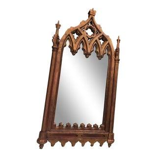 Gothic Antique Mirror