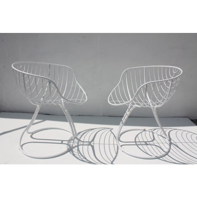 "Italian ""Pan Am"" Logo Chairs - A Pair - Image 3 of 11"