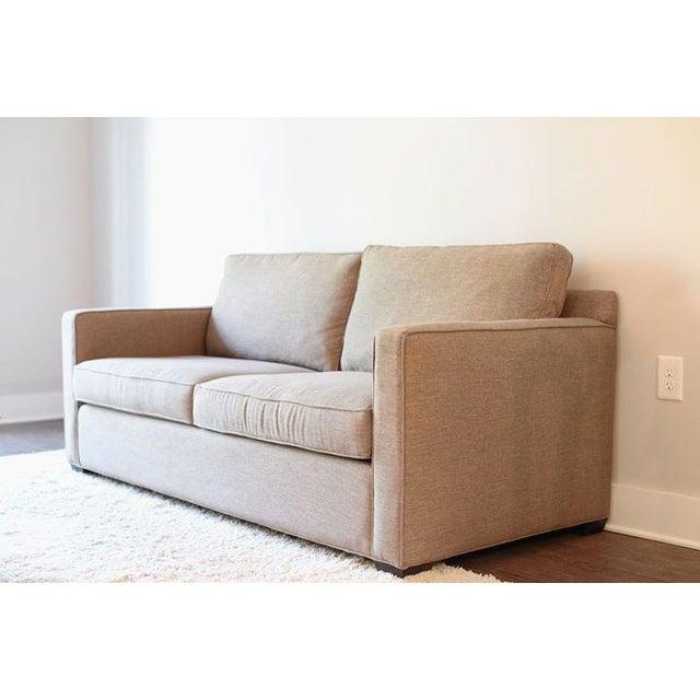 Crate & Barrel Davis Apartment Sofa - Image 3 of 5