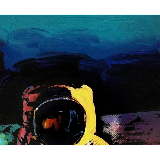 Pop Art Peter Max Moonwalk 2009 For Sale - Image 3 of 8