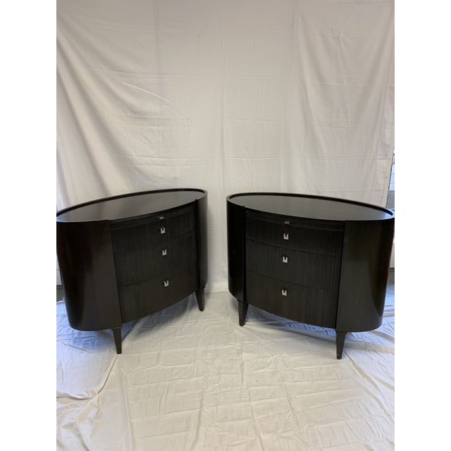 Pair of Side tables by Axis Furniture