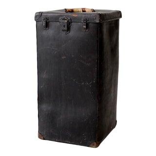 Vintage Vulcanized Luggage Bin
