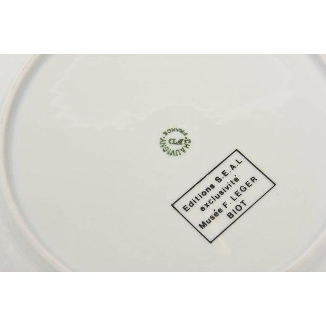 Ceramic After Fernand Leger Porcelain Plate For Sale - Image 7 of 8