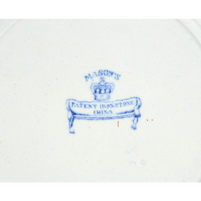 Mason's Luncheon Plate - Set of 5 For Sale In Greensboro - Image 6 of 7