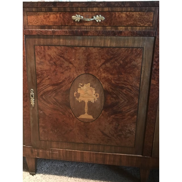 Antique French Rosewood Server - Image 3 of 5