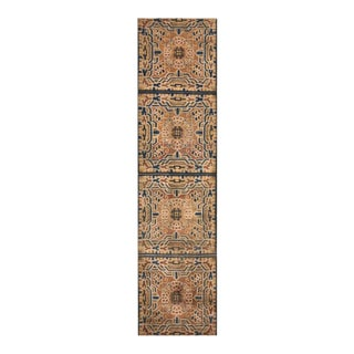 """Antique Chinese Rug 2'4"""" X 9'0"""" For Sale"""
