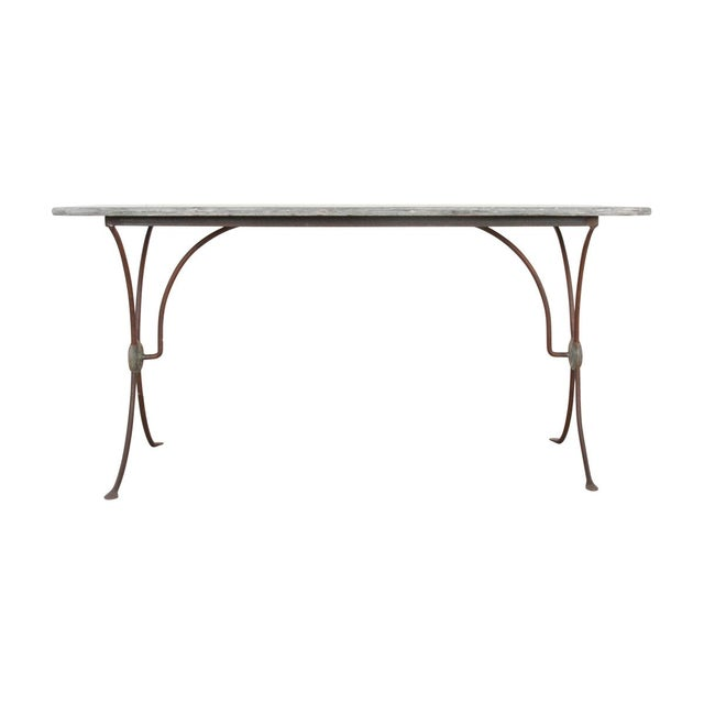 French 19th Century Art Nouveau Bistro Table For Sale - Image 10 of 10