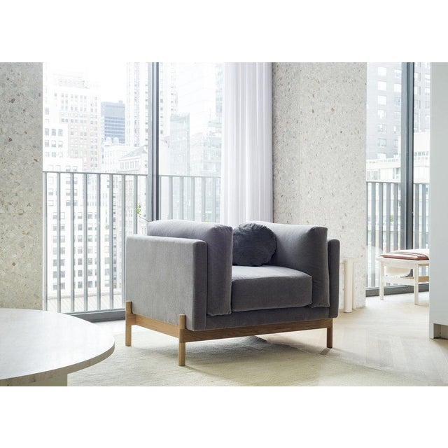 Not Yet Made - Made To Order Mae Armchair, Com For Sale - Image 5 of 5