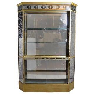 Églomisé Mirrored Back Bar For Sale